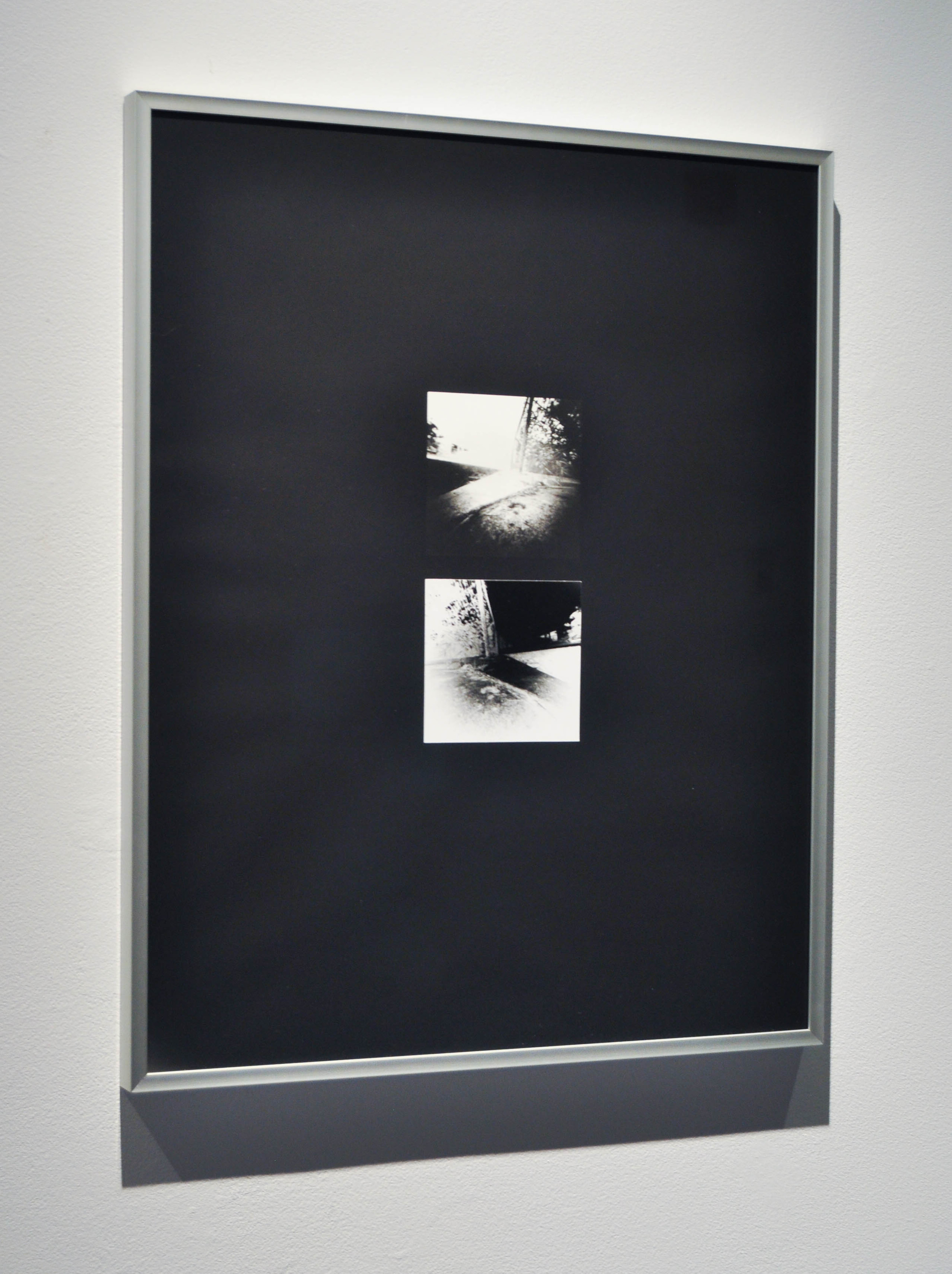 """Fragments Re-Imagined (Installation View),  16x20"""",    Fragments Re-Imagined (Installation View), 11x14""""(4), 16x20""""(3),Silver gelatin prints, 2014, Mallory Donen, UFV Building C, Room C1401, Abbotsford, BC"""