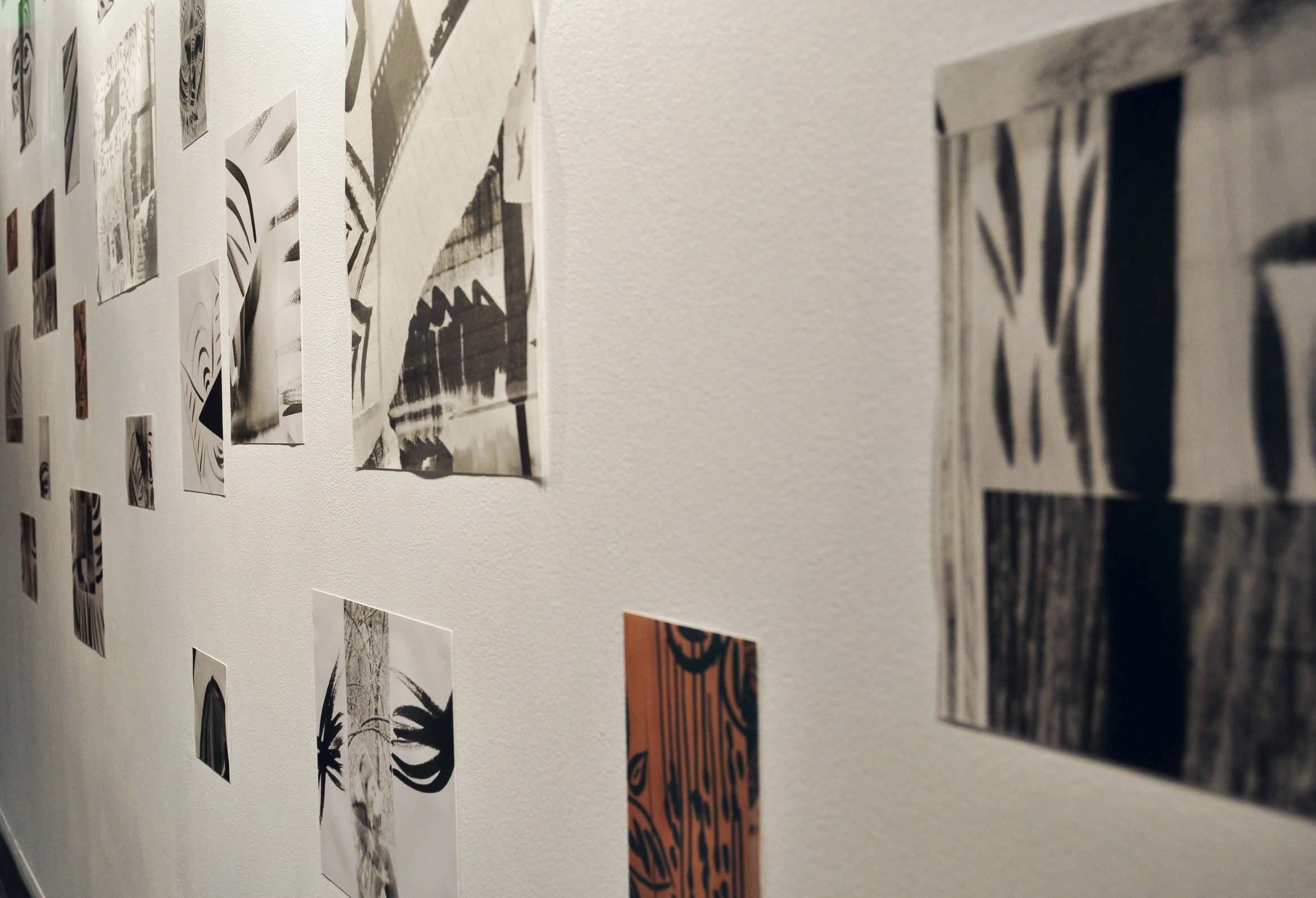 Fragments Re-Imagined (Installation View), Silver gelatin prints, 2014, Mallory Donen, UFV Building C, Room C1401, Abbotsford, BC