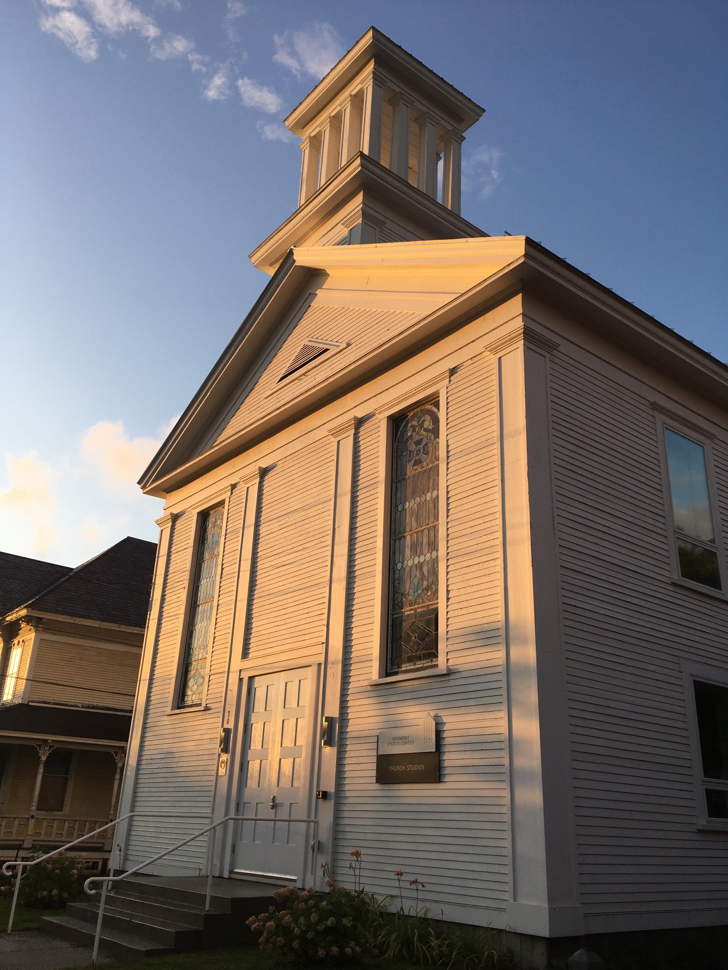 Church Studios , Vermont Studio Center, Johnson, VT, September 2019