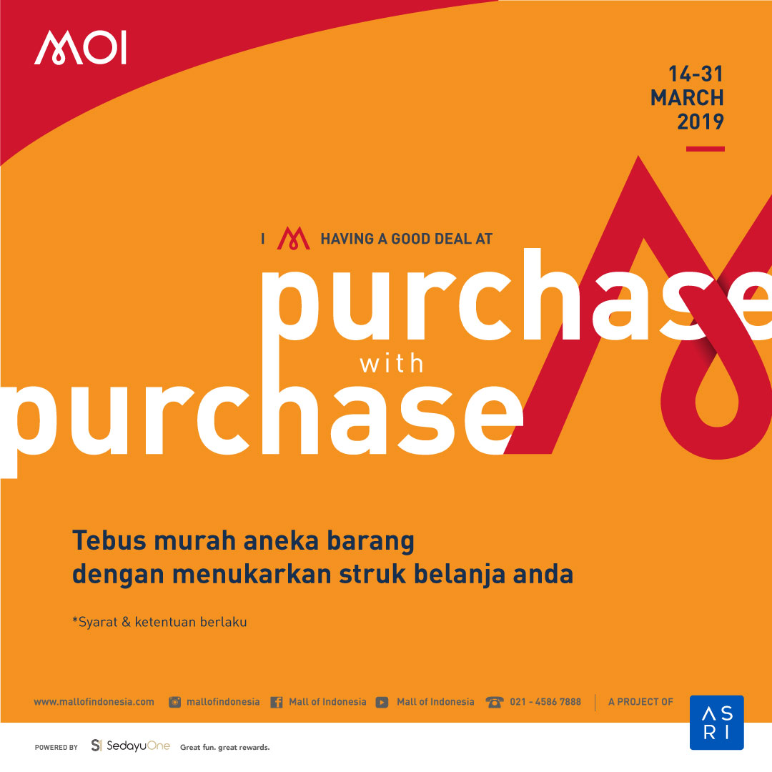Purchase with purchase MOI