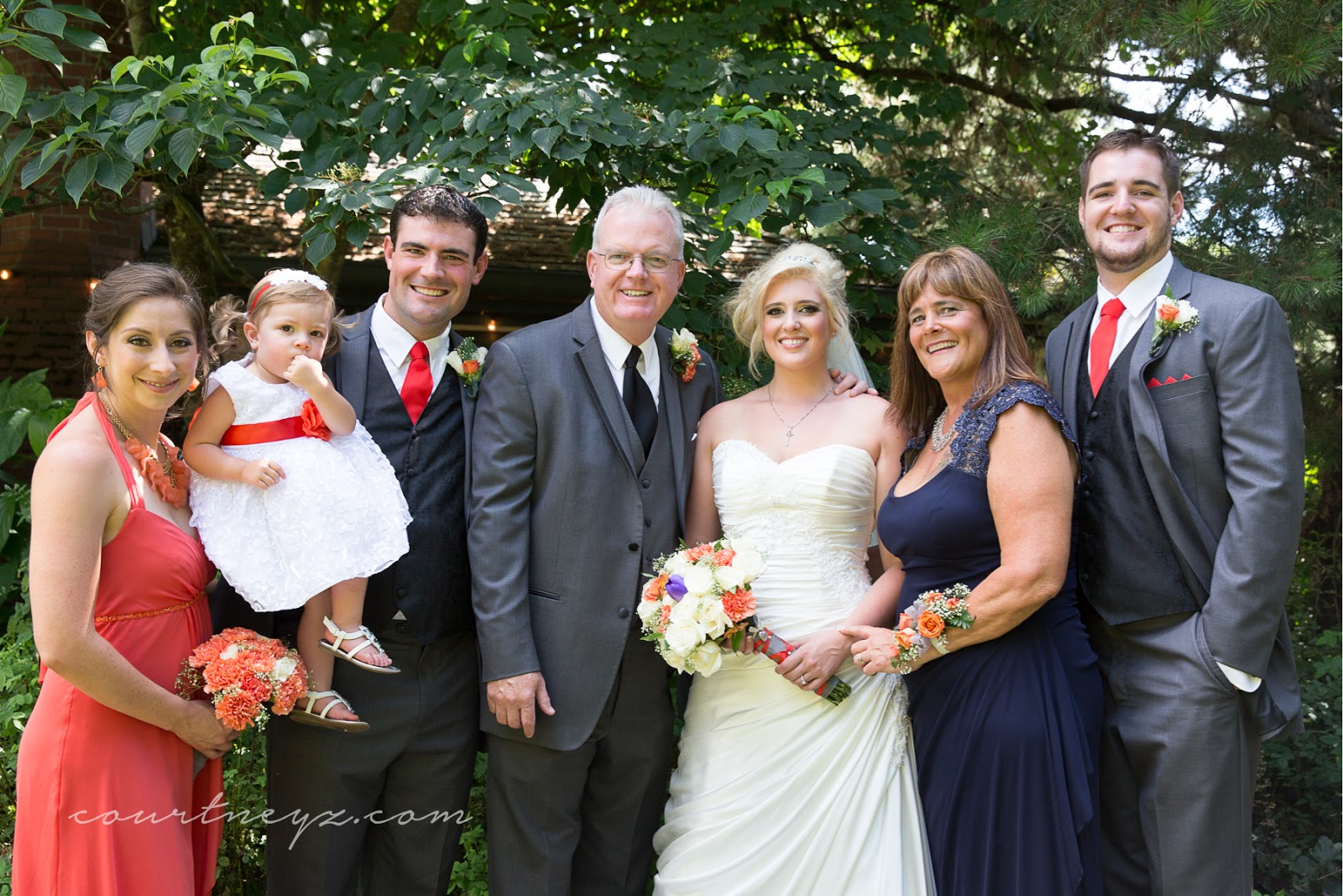 Portland, OR wedding photography family