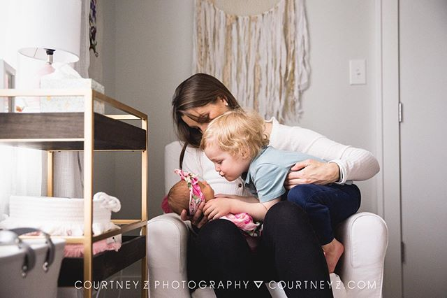 #fbf to when my bestie brought her third baby home and the whole family was totally obsessed. ...sometimes and little too obsessed. 😂😍