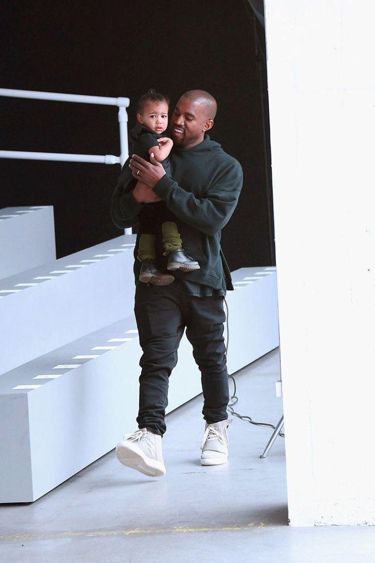 Kanye West + North West