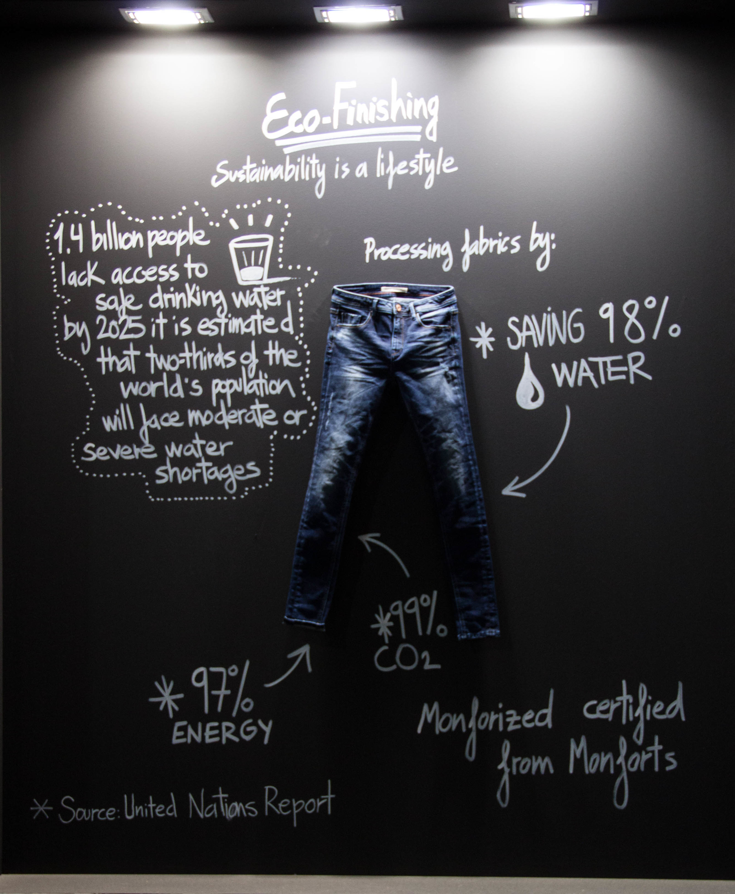 Sustainability as a standard for high end denim? Of course, yes!