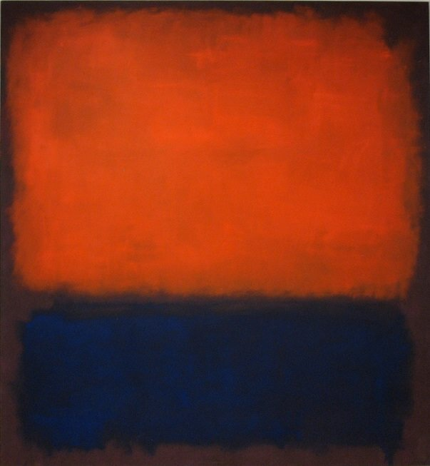 """""""Number 14"""" by Mark Rothko"""