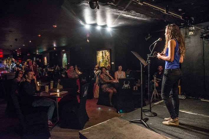 Storytelling at the Lost and Found Show