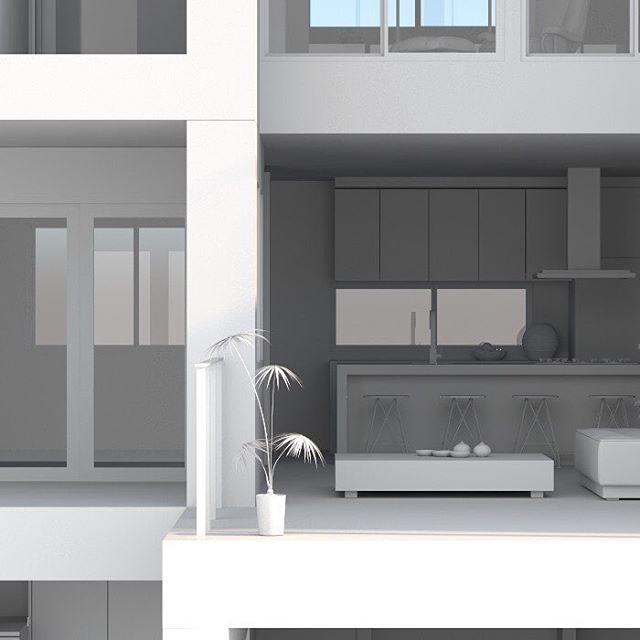 5 of 9, #3dmodelling #house for #architectural #project , #140element . . . . #3d #rendering #3drender #architecture #design #interiordesign #exteriordesign #buildings #simulation #gfx #cg #graphicdesign #creative #digital #建築 #インテリア #外観 #内装 #内観 #デザイン #グラフィック #デジタル #アート #kitchendesign #dinningroom