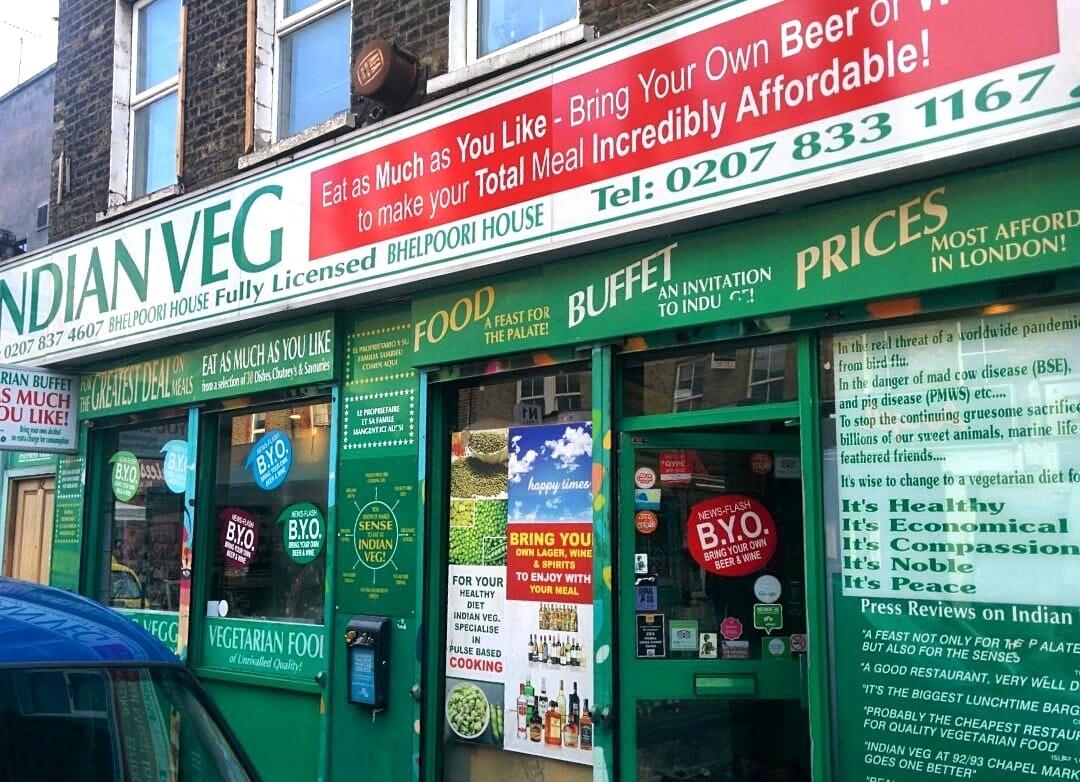 Indian Veg, Whitechapel