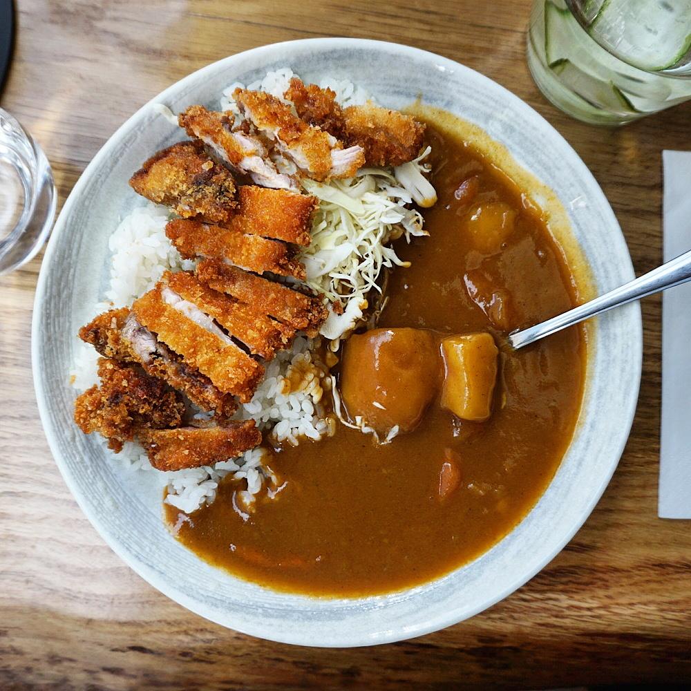katsu curry from Tonkotsu Bankside