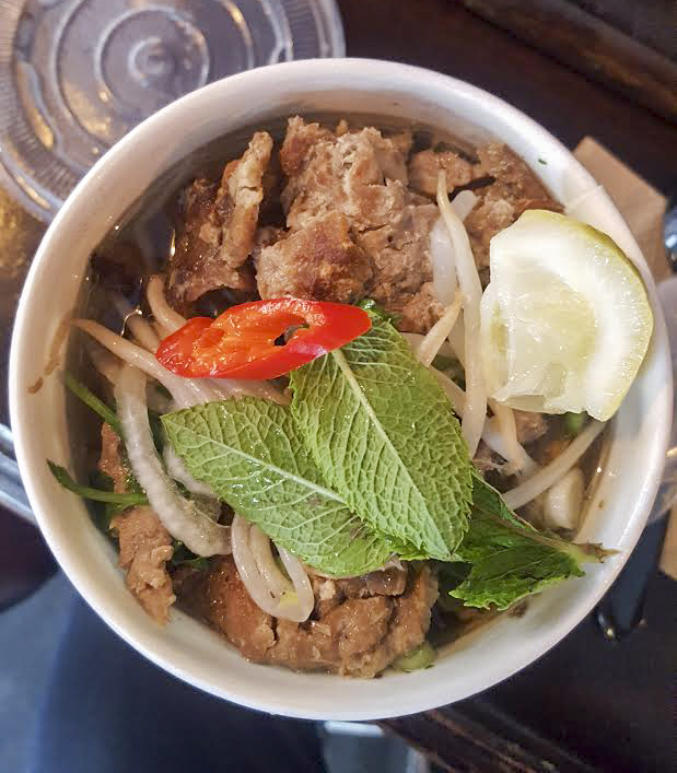 BBQ pork pho from Chao on Whitecross Street