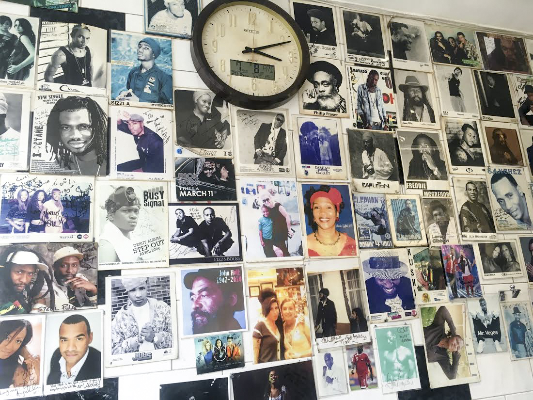 the Wall of Fame at Ochi in Shepherd's Bush