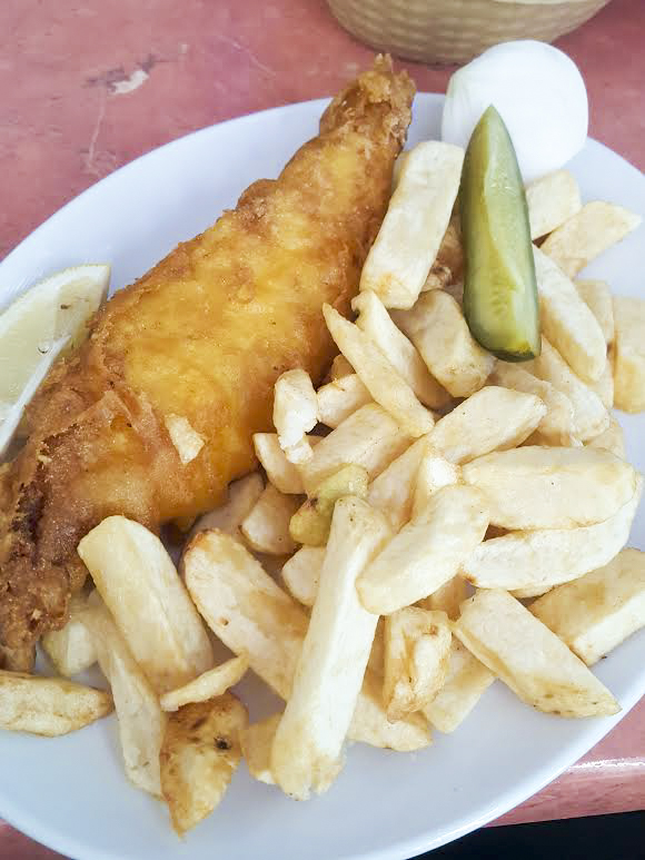 cod and chips from Masters Superfish