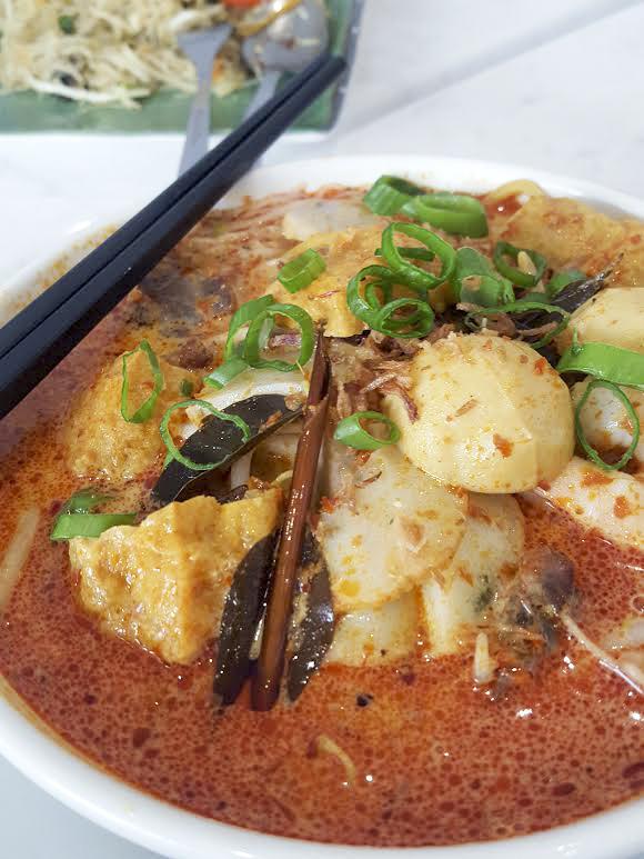 Singapore (curry) laksa, Noodle House in Sutton