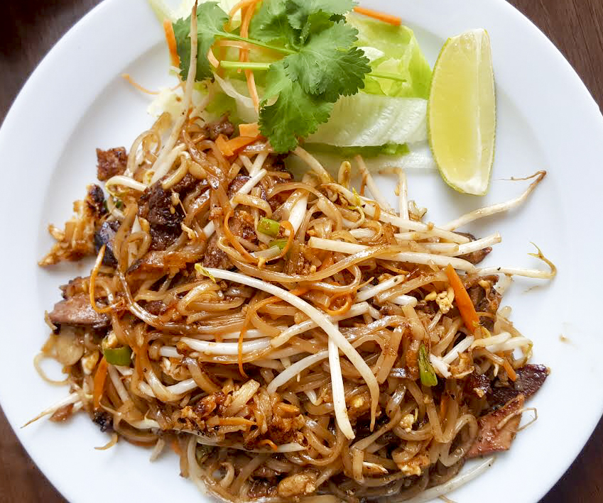 pad thai from Baan Kati, Holloway Road