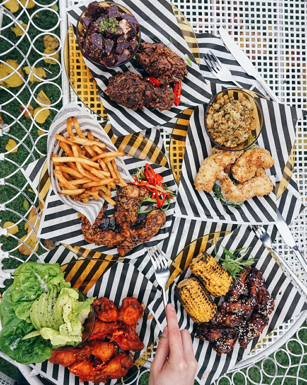 London Cheap Eats Pop-Up Menu at Clutch Chicken