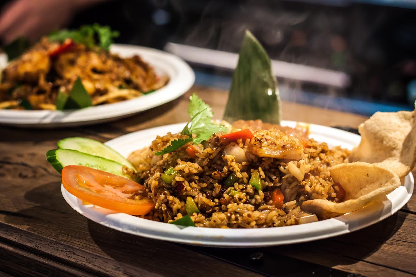 nasi goreng from Ekachai, Flat Iron Square