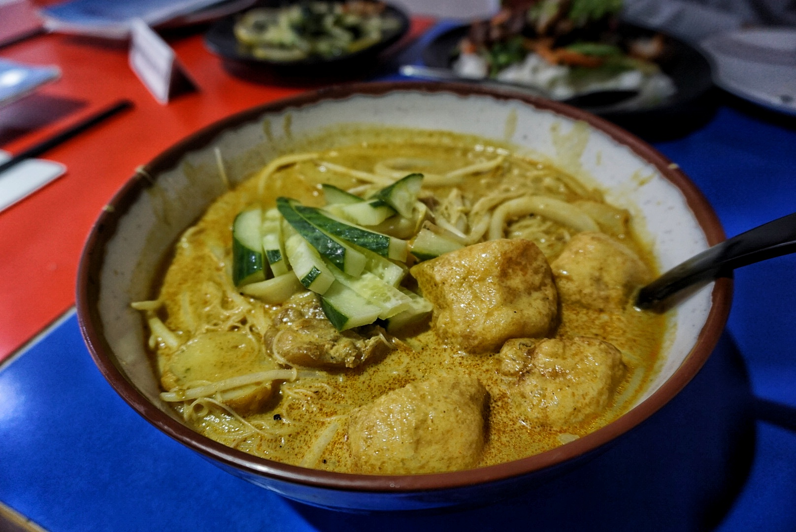 Laksa curry from Zaibatsu, Greenwich