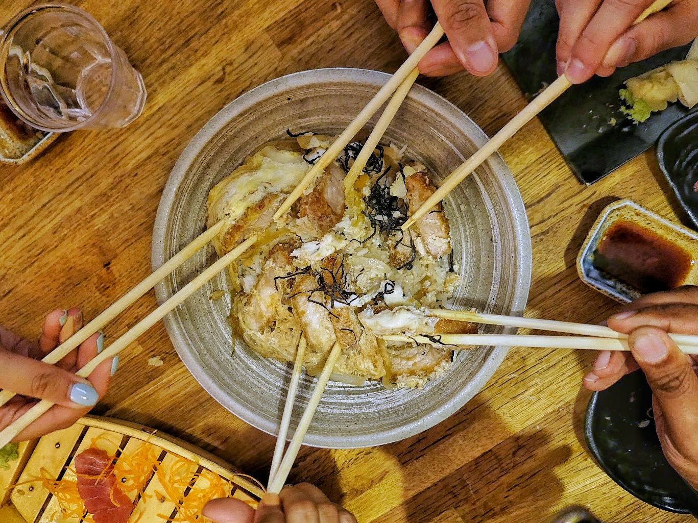 pork katsu don at Hana Sushi, NW7