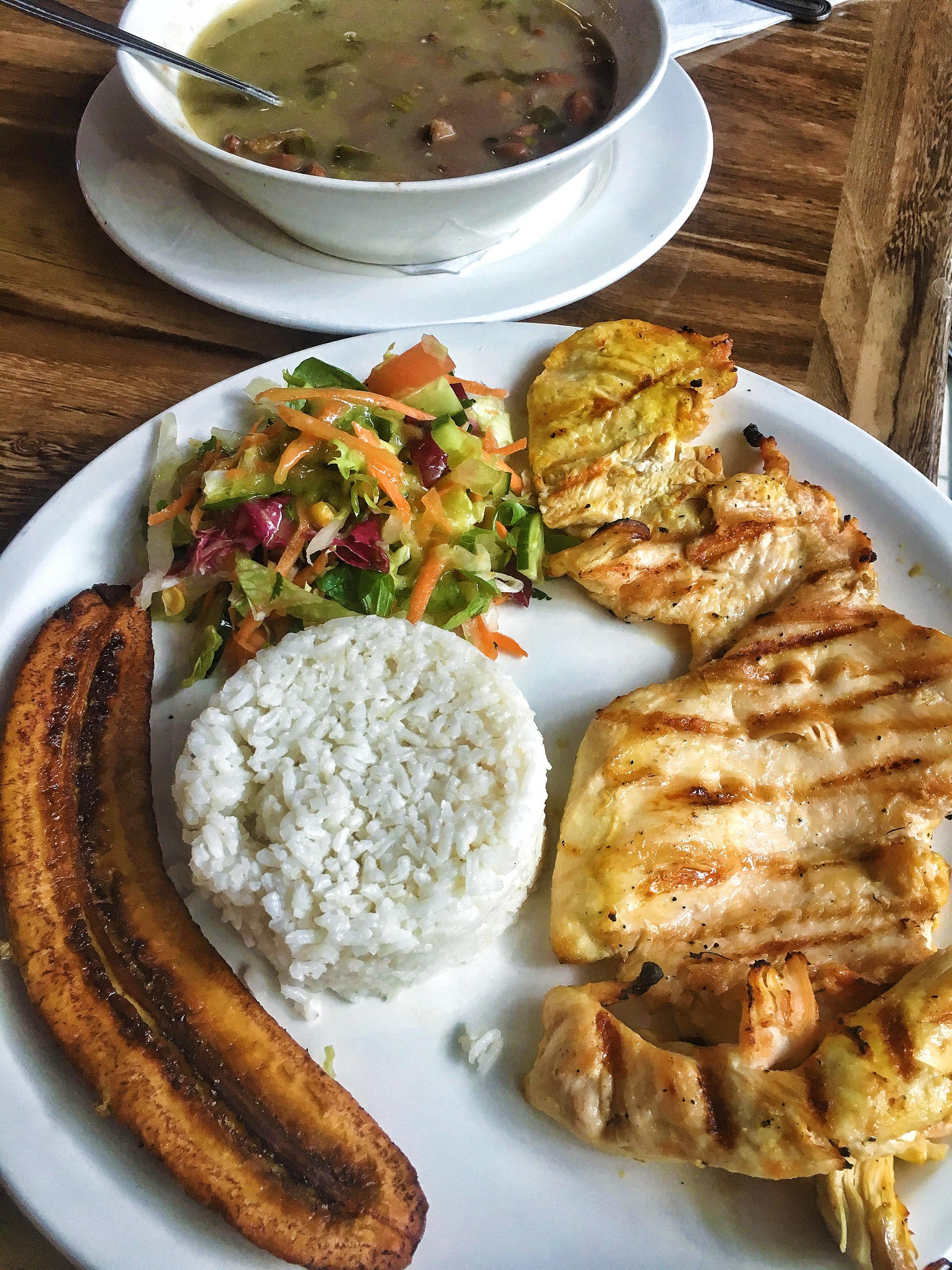 SOUP PLUS MEAT MAIN WITH SIDES | LEÑOS & CARBÓN | £8