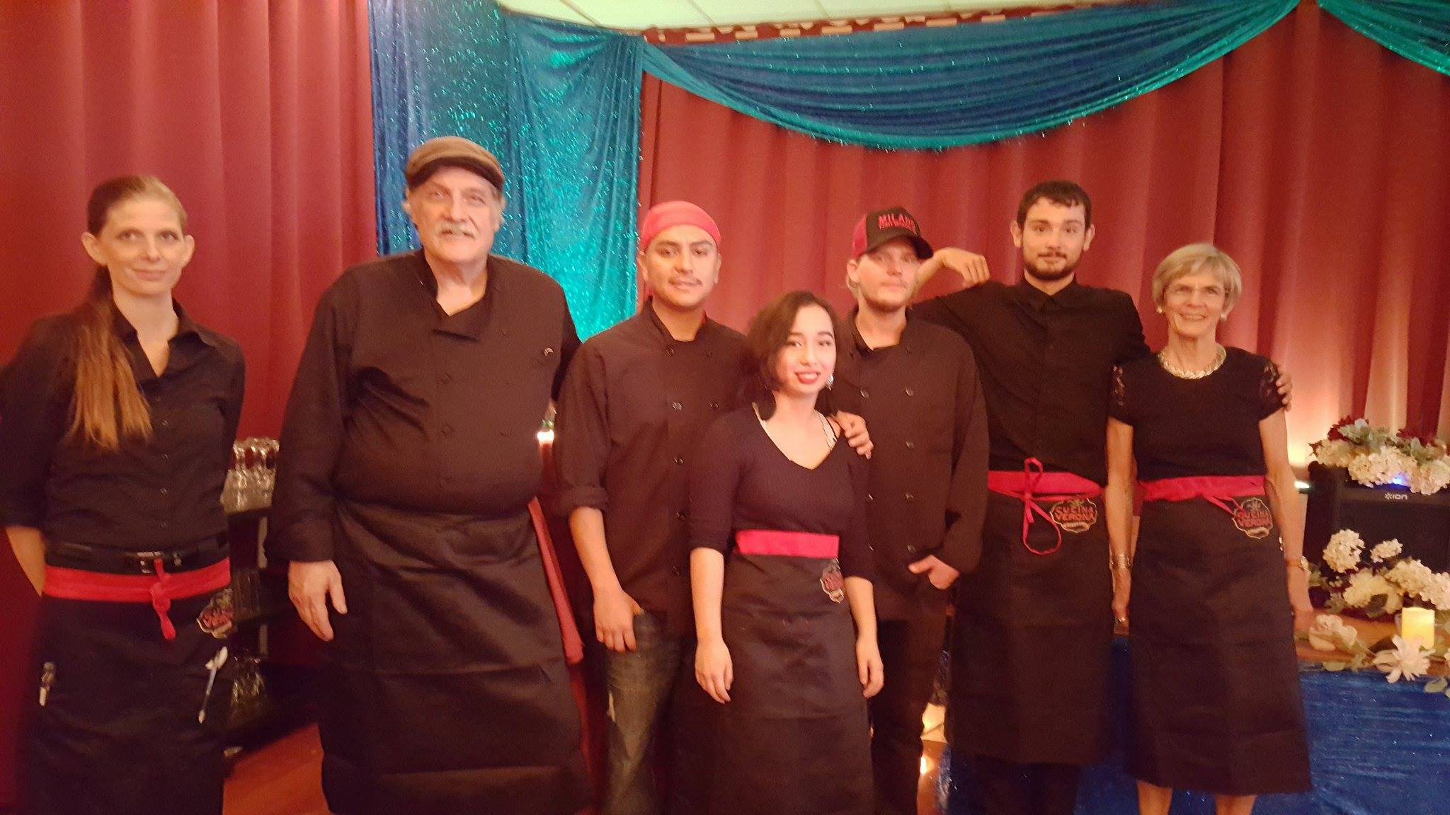 - Cucina Verona offers full service catering for Weddings, Holiday Parties, or any other special occasion. With our off site partners we can accommodate all special events, large or small. Join us for your Holiday Party,Corporate Retreat any other special occasion. We offer full concierge services for activities, entertainment, accommodations, and of course the finest catering services on the Mendocino Coast.