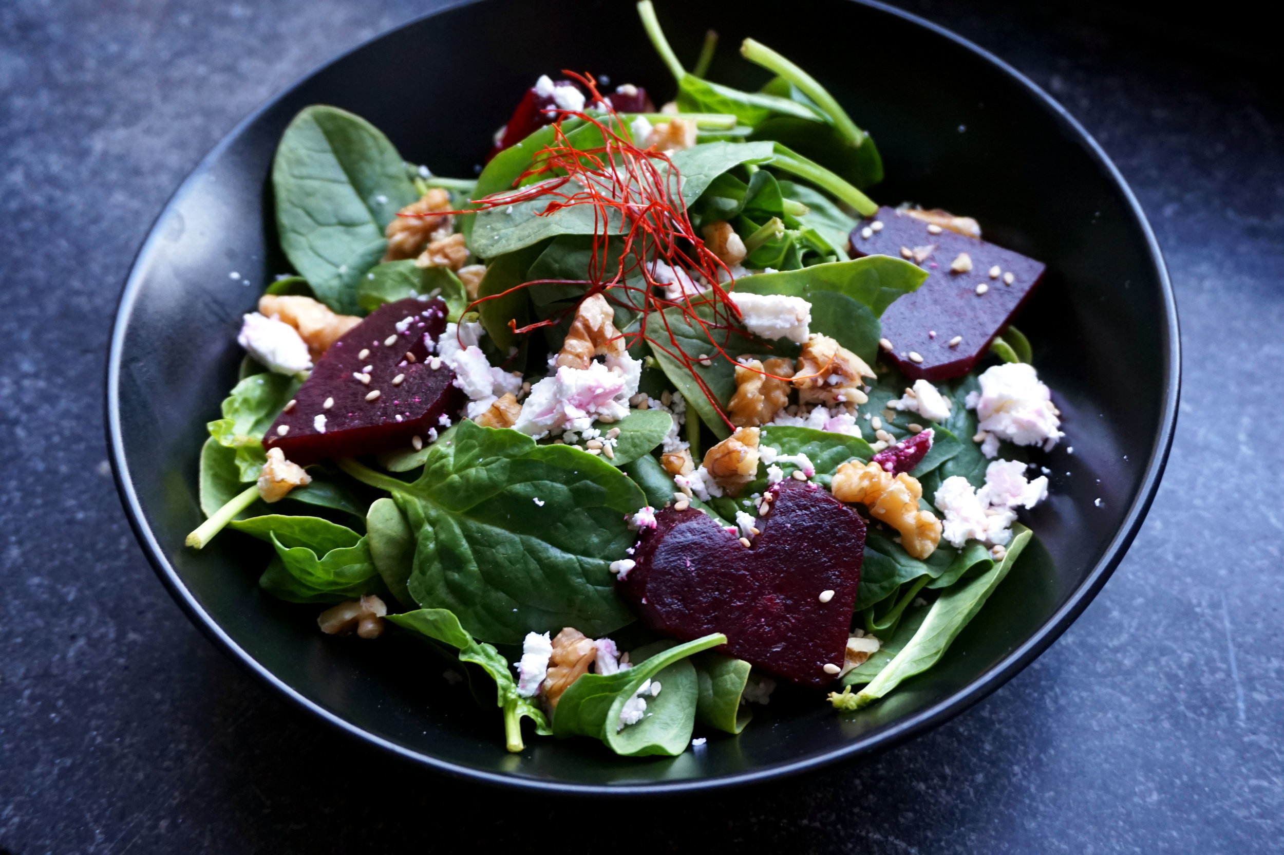 rote beete salat - muttertag - kitchen-impossible.com