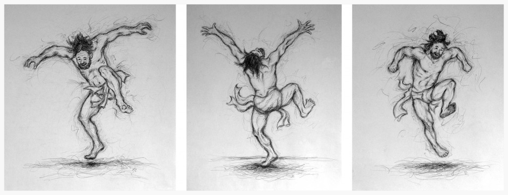 The Joy of the Redeemed (King David Dancing)  from  jtbarts.com