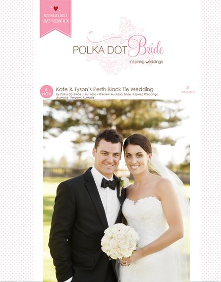 Polka Dot Bride | Kate & Tyson