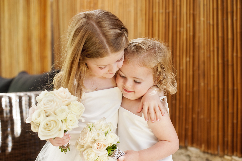 cute flower girls perth wedding photography