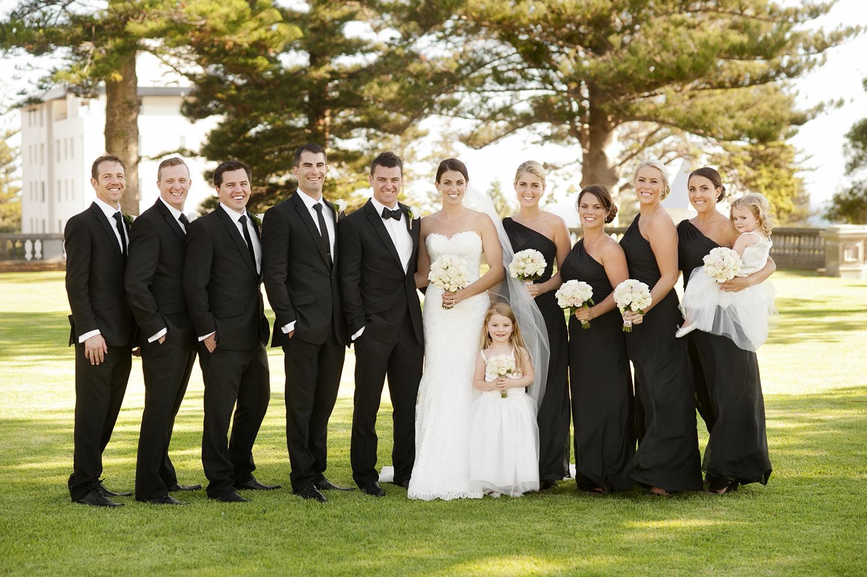 black bridesmaids dresses perth wedding photography