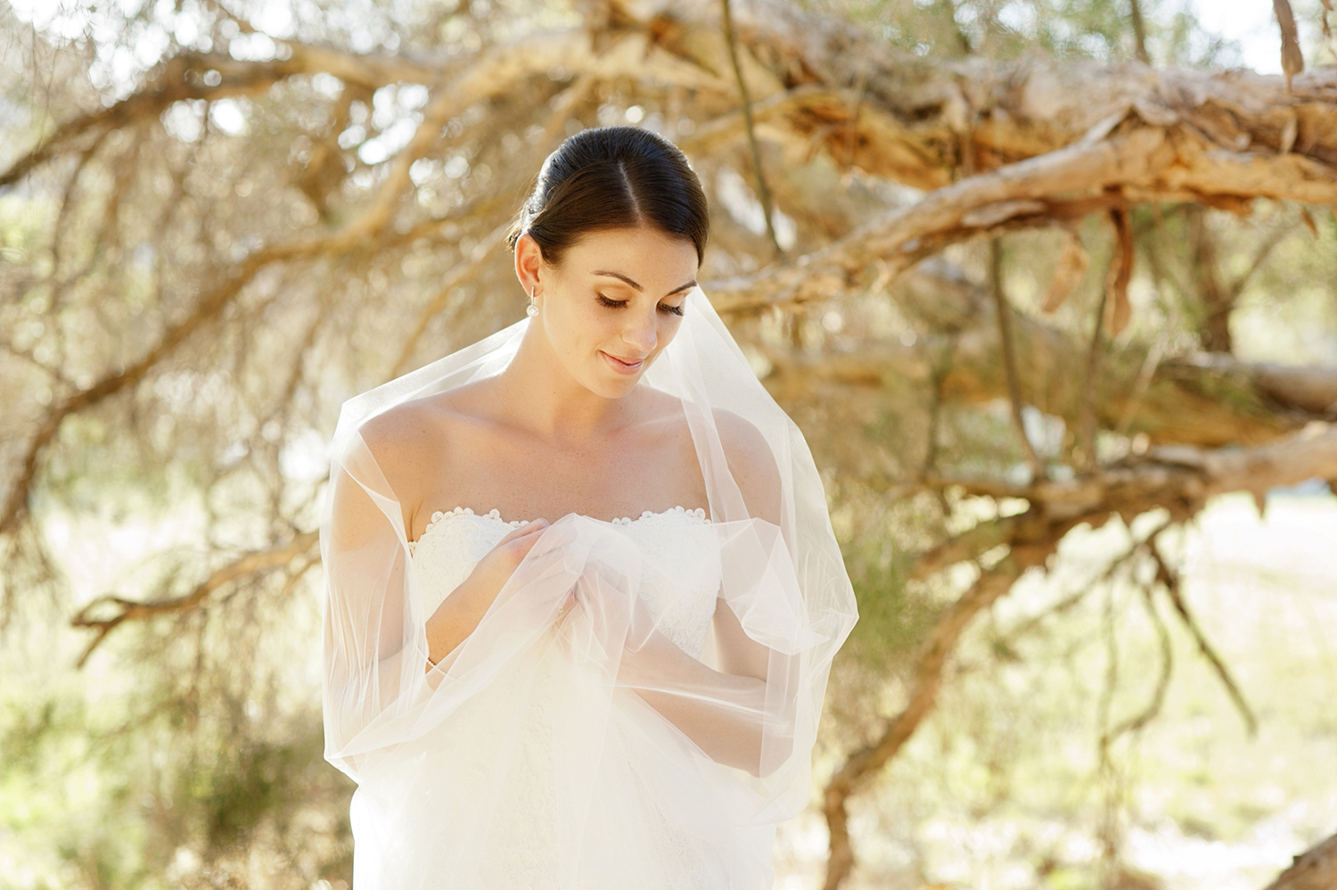 bride at star swamp best perth wedding photography locations