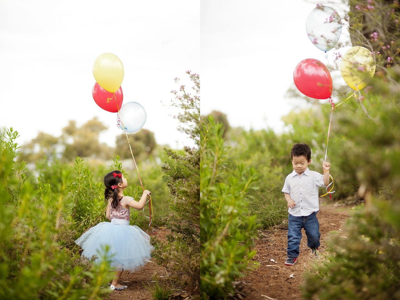 perth portrait photographer kings park helium balloons