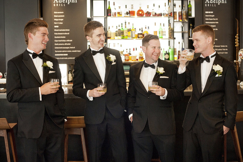 black tie wedding perth
