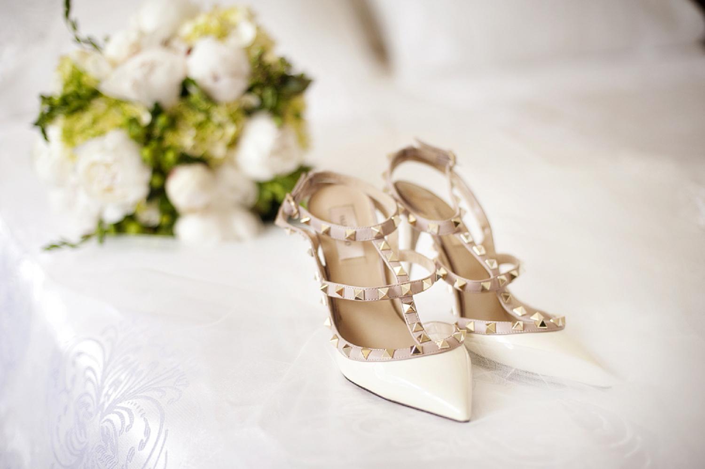 valentino studded wedding shoes
