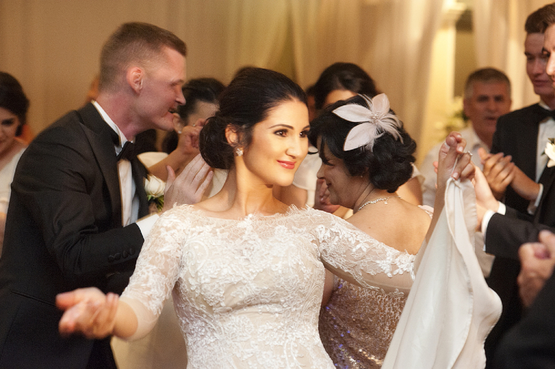 lebanese dancing at perth wedding
