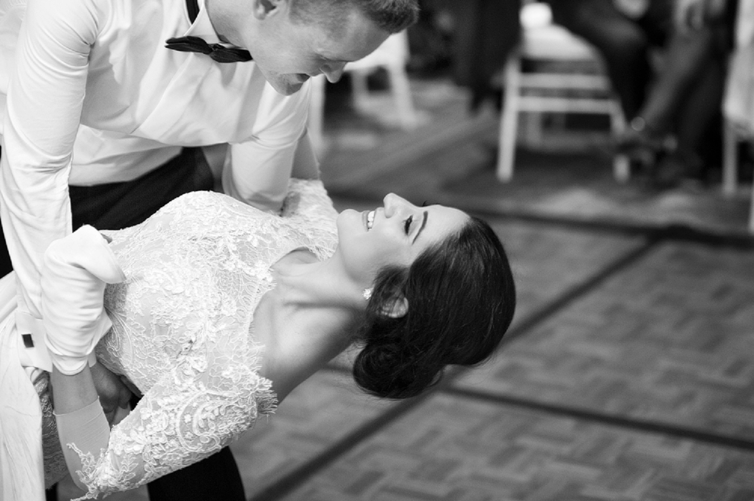 bride and groom doing first dance perth wedding photography