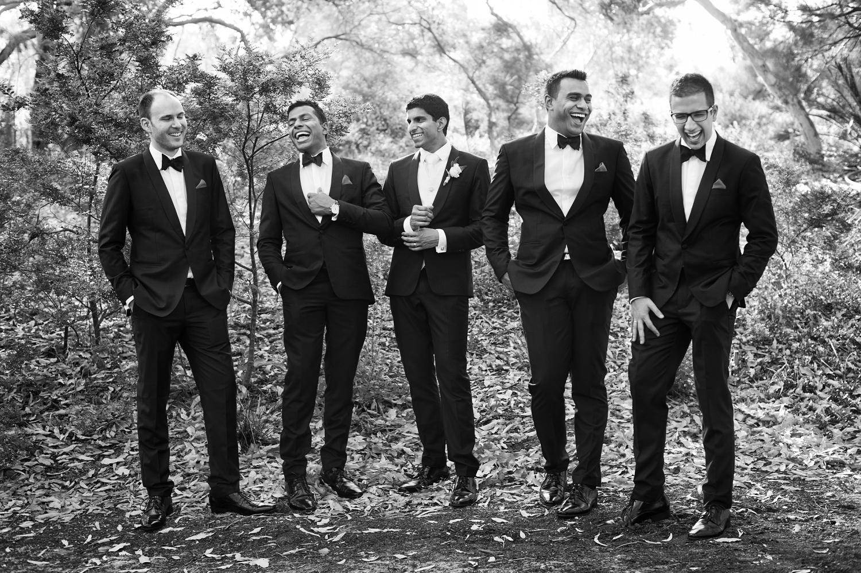 black tie elegant wedding perth