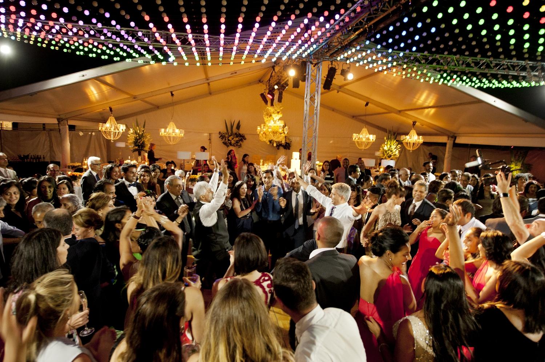 dancing at indian perth wedding reception