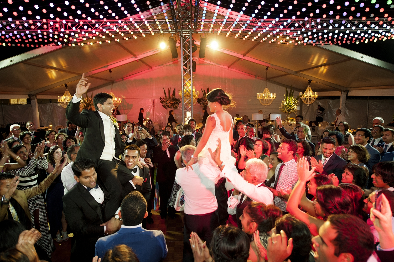 indian dancing at perth wedding