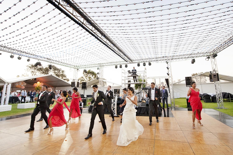 bridal party flash mob dance perth
