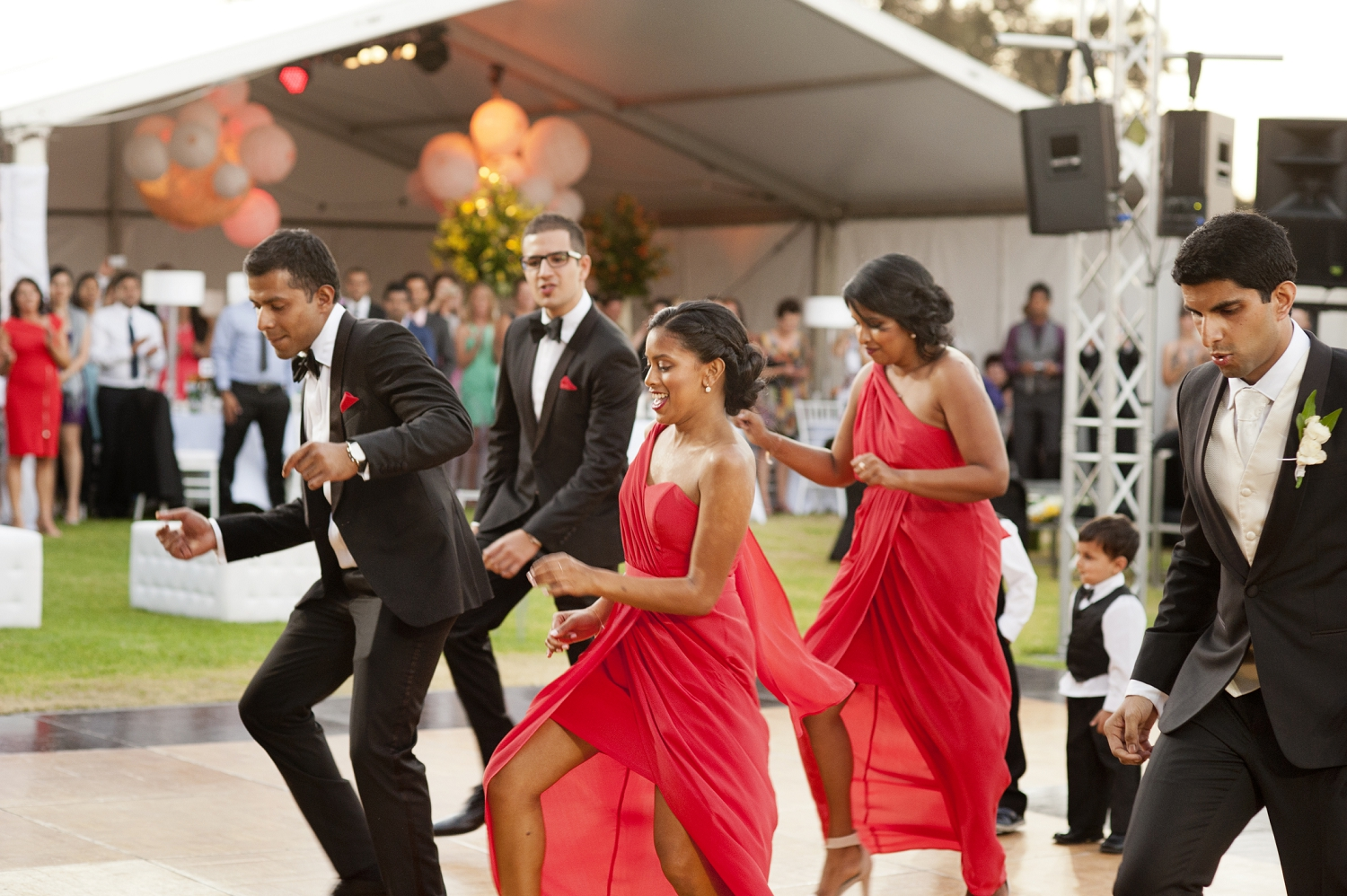 flash mob dance by bridal party perth