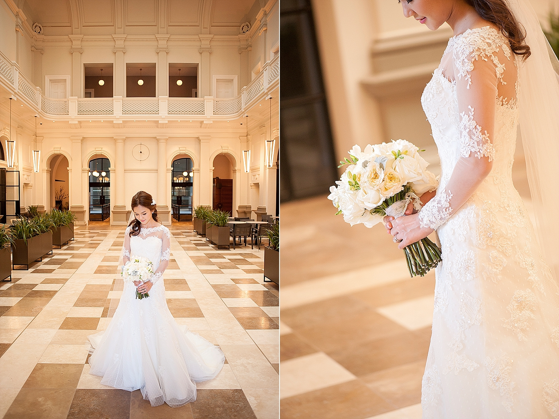 wedding photos in treasury buildings perth
