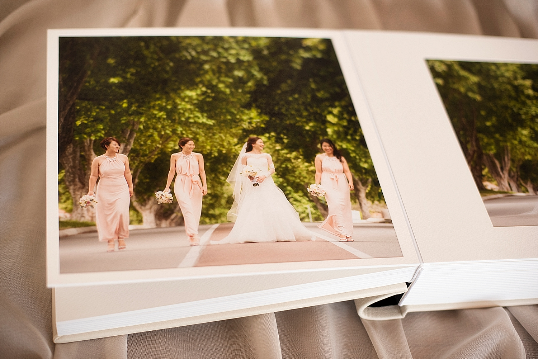matted queensberry wedding album