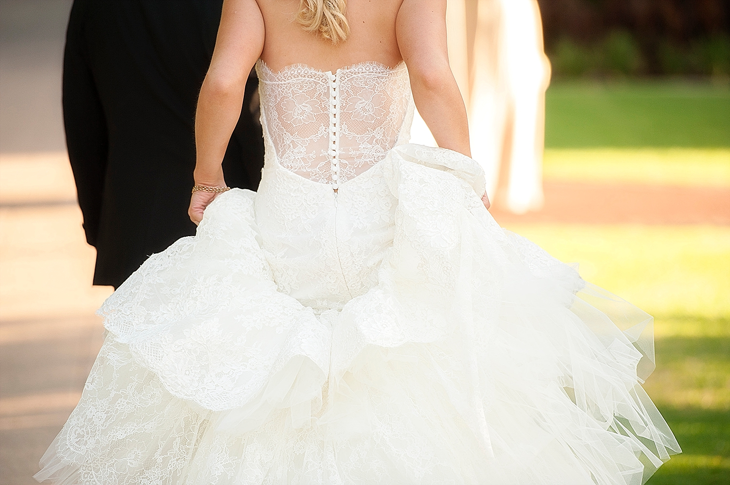 39_bride with low lace back pronovias gown wedding perth.jpg
