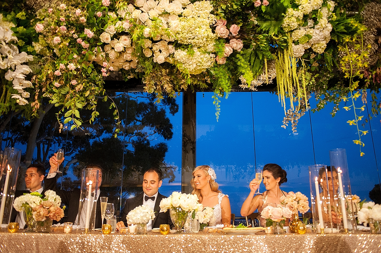 73_hanging floral installation over bridal table wedding perth.jpg