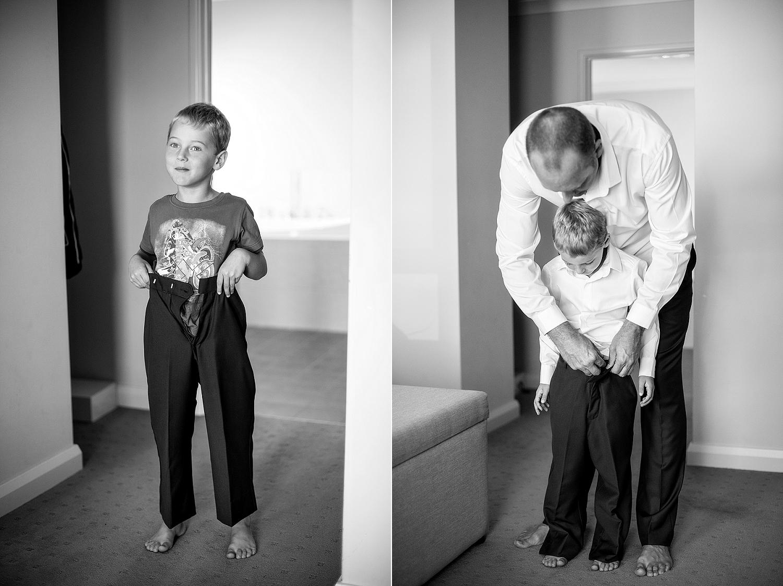 04_father and son getting ready wedding perth .jpg