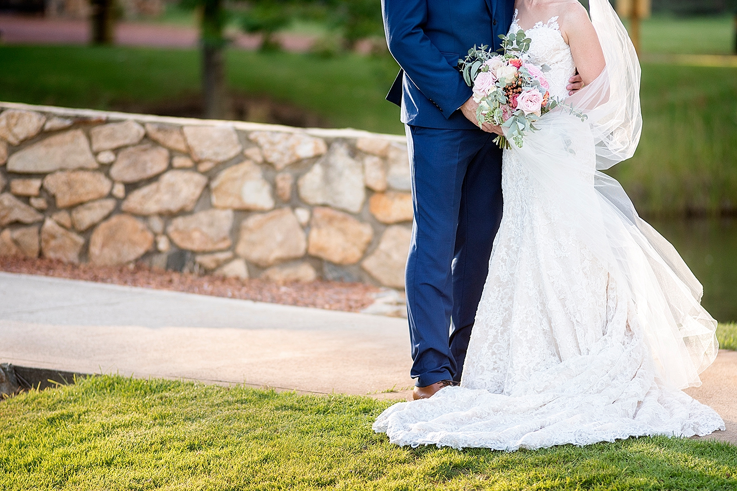 50_lace dress with native bouquet wedding perth .jpg