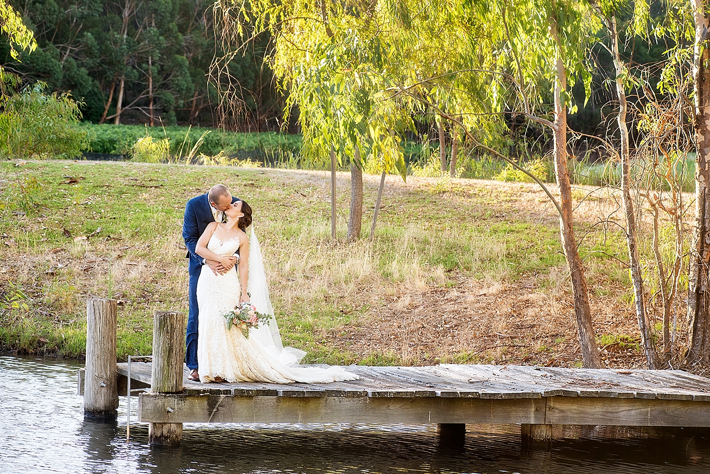 57_millbrook winery wedding perth photos on wooden jetty .jpg