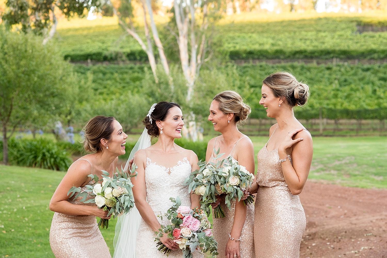 62_bridemaids in sequin gold dresses wedding perth .jpg