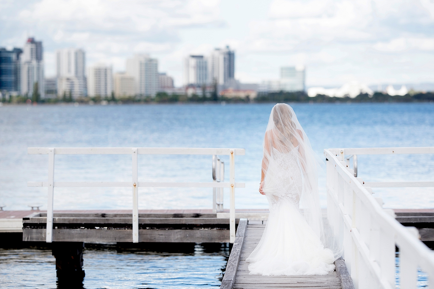 26 south perth fishing jetty with bride wedding perth deray simcoe.jpg