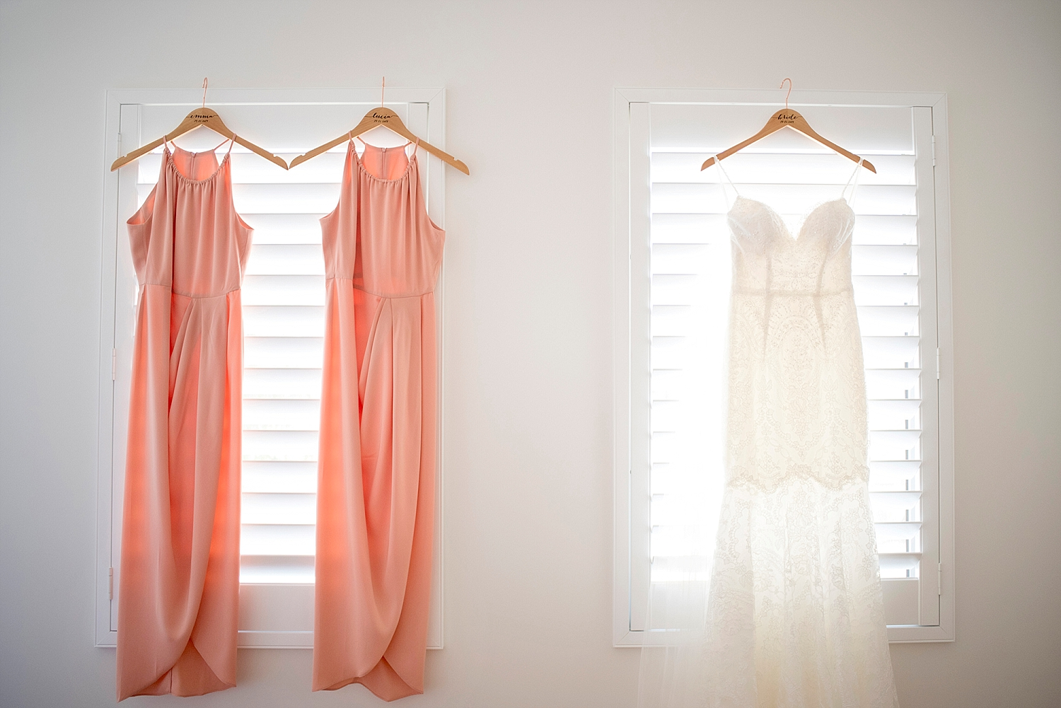 01_lace bridal gown with blush bridesmaids wedding perth.jpg